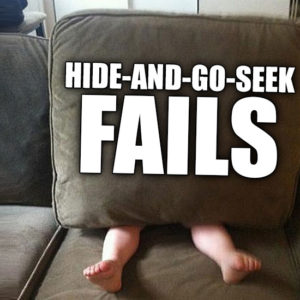 15 Hilarious Hide And Seek Fails That Will Make Parents Laugh