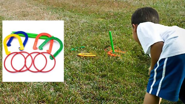 Horseshoes Game For Kids