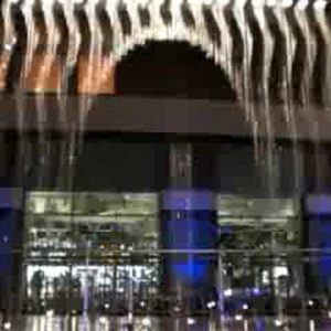 Amazing Japanese Fountain Can Draw Images In Water