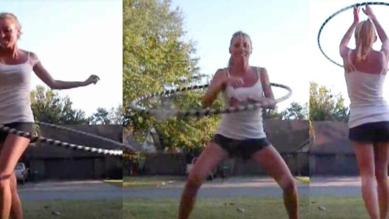 Sexy Hula Hoop Workout Video