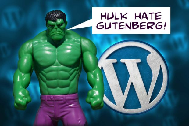 Hulk Hate Gutenberg! - Gutenberg Sucks