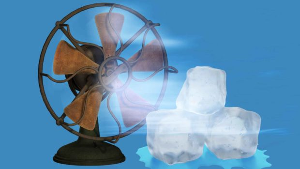 Ice Fan - A Cheap Alternative To Air Conditioning