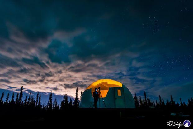 Igloo House In Alaska