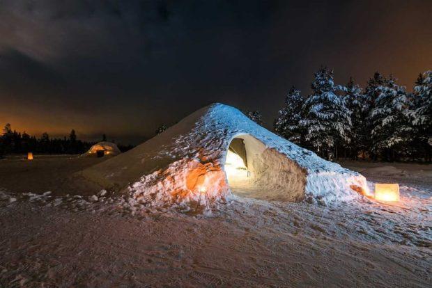 Snow Igloo Airbnb