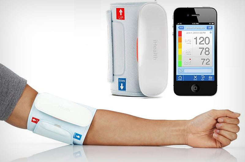 iHealth Blood Pressure Cuff for iPad