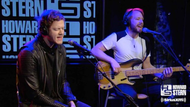 Radioactive By Imagine Dragons Live On Howard Stern