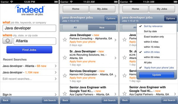 10 essential job hunting apps for ios  windows  blackberry
