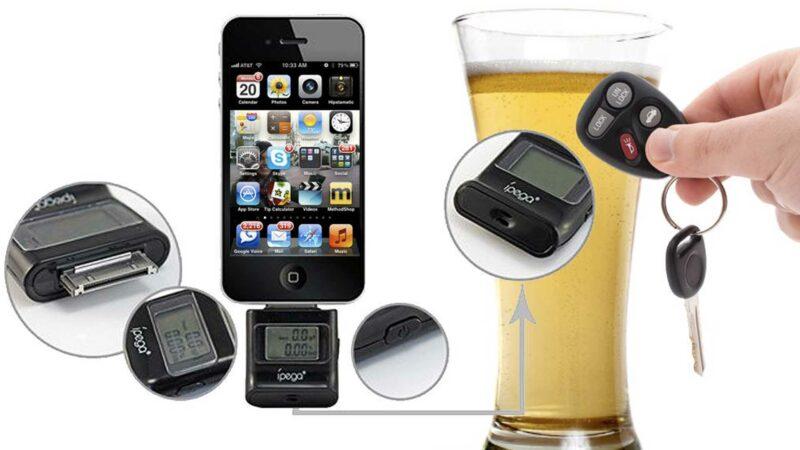 iPega iPhone Breathalyzer
