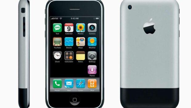 Old Iphone 1G - Minted Methodshop