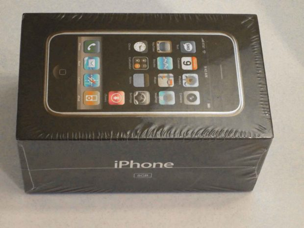 Unopened First Generation iPhone