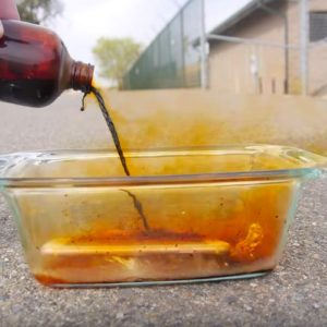 VIDEO: Don't Pour Bromine On Your iPhone