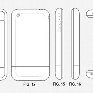 Pictures in Patent Application Give Clues To The First iPhone's Features
