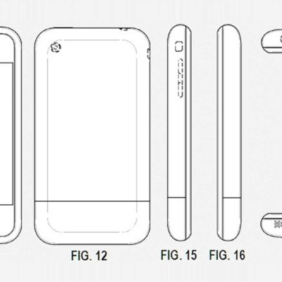 Photos of First iPhone Patent Application