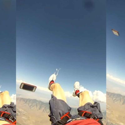 iPhone Survives 13,200 Foot Skydiving Mishap