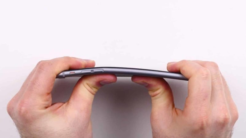 iPhone 6 Plus Bend Test