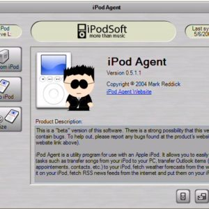 iPod Agent for PC Now in Beta