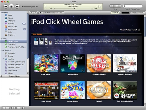 How To Download Discontinued Ipod Click Wheel Games