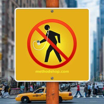 New York City iPod Crosswalk Ban