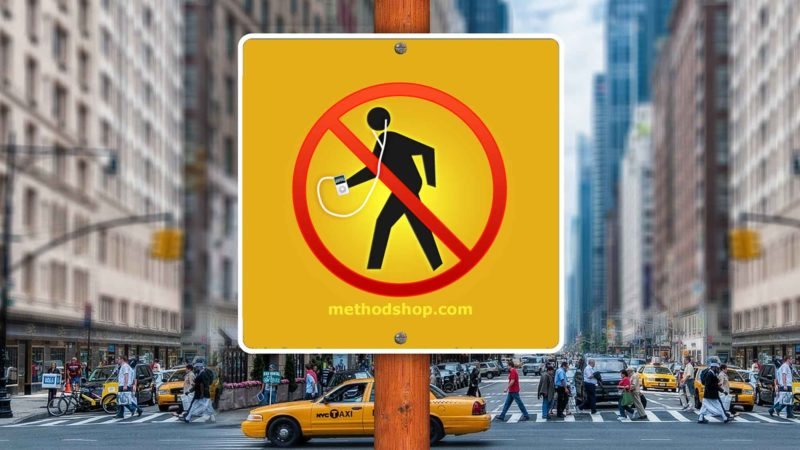 New York City iPod Crosswalk Ban