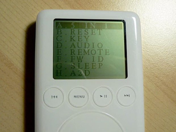 iPod Diagnostic Mode Tests