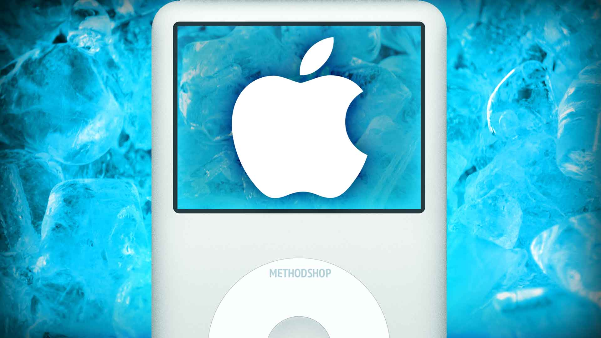 iPod Frozen in Ice