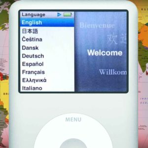 Easy Walkthrough on How to Change Your iPod Language Settings