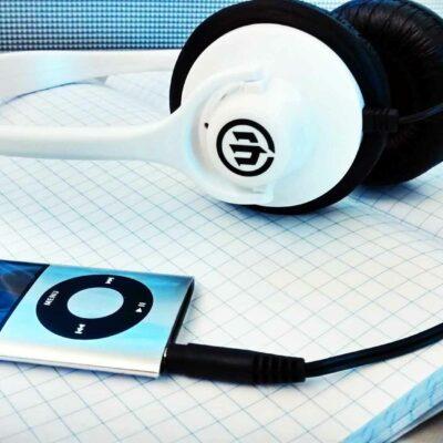 iPod Nano and Headphones