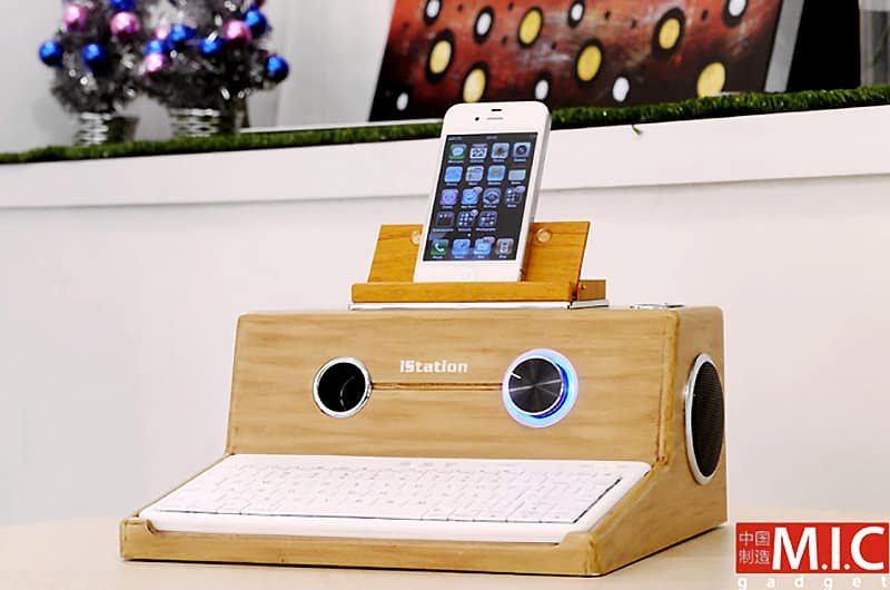 Mic Istation Dock For Ipad &Amp; Iphone