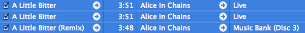 Scan Your Itunes Library For Duplicates - Alice In Chains Songs