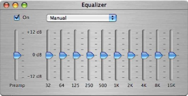 The Itunes Equalizer Is A 10-Band Graphic Equalizer
