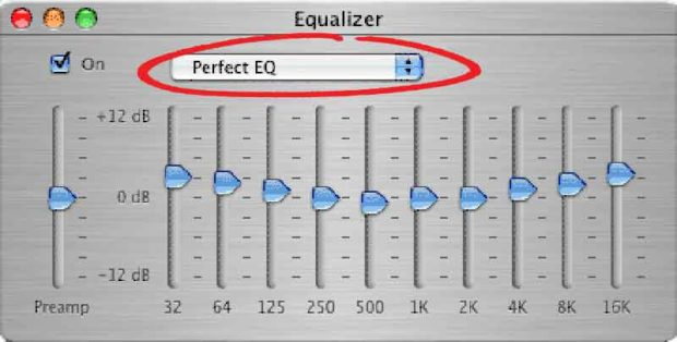 Perfect Itunes Equalizer Presets