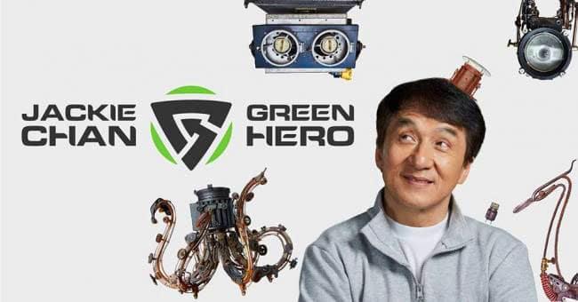 Jackie Chan Green Hero