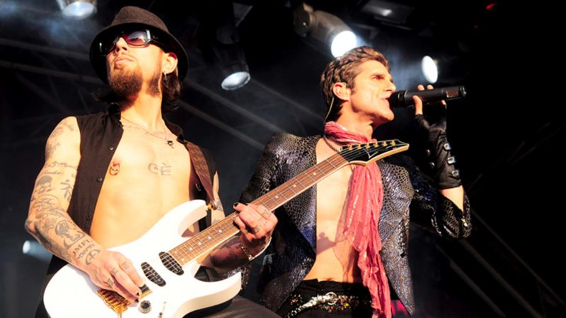 Dave Navarro and Perry Farrell from Jane's Addiction