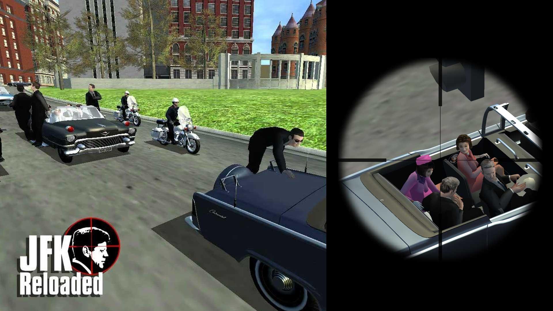 Jfk: reloaded a simulation of the jfk assassination youtube.