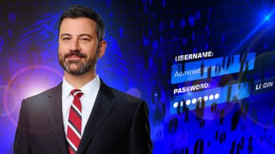 Jimmy Kimmel Password Hacking