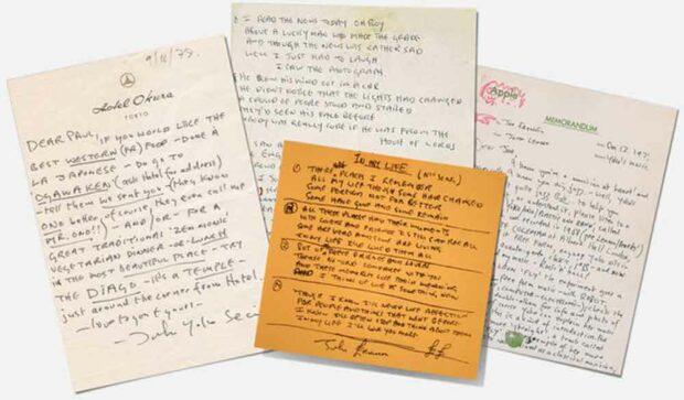 John Lennon Lyrics & Letters