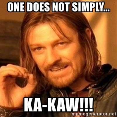 Ka Kaw Meme - Lord Of The Rings