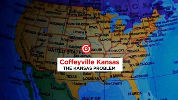 Coffeyville Kansas Is The Center Of The United States... According To Google Maps