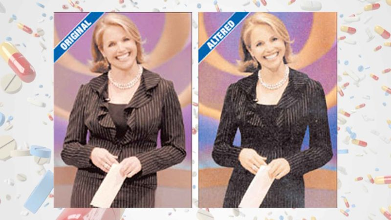 Katie Couric Photos Altered By CBS News