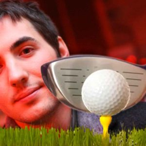 Ouch! Kevin Rose Hits Golf Ball Into A Diggnation Fan's Face