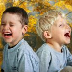 Kids Laughing Smile Fall Thanksgiving