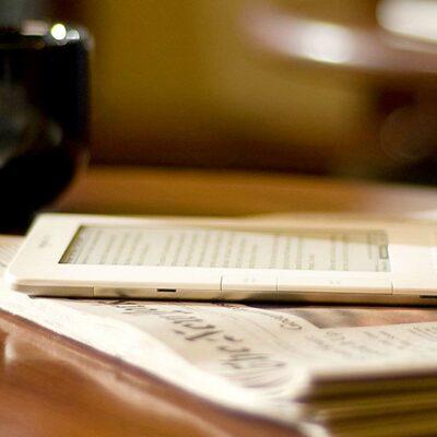 Kindle & Newspaper