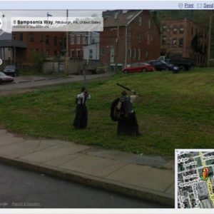 LARP Nerds Busted by Google Street View in Pittsburgh