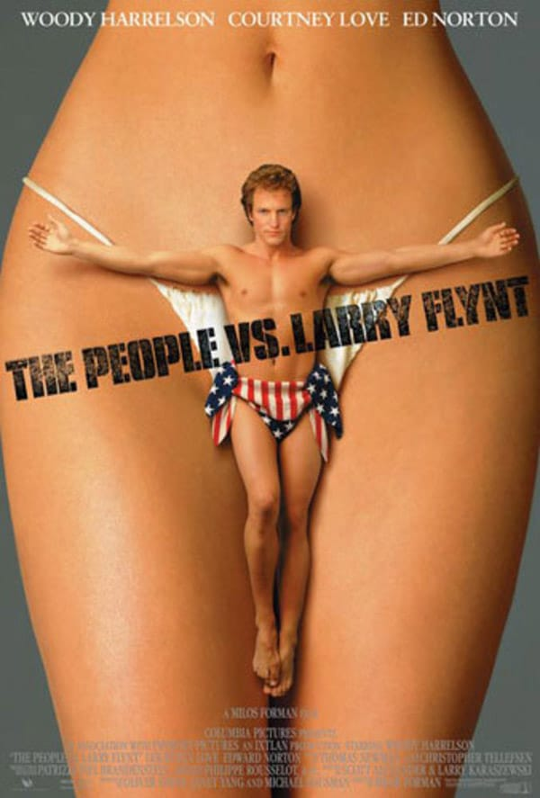 The People Vs. Larry Flynt - Banned Movie Posters