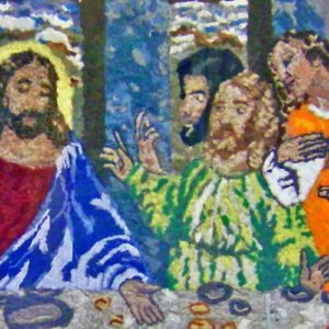 Dryer Lint Last Supper Sells For $12,000 To Ripley's Believe It Or Not! Museum
