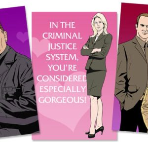 Law & Order SVU Valentine's Day Cards
