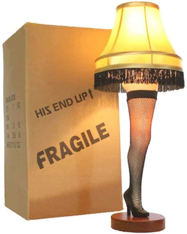 "26"" A Christmas Story Deluxe Desktop Leg Lamp"