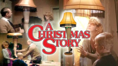 The Leg Lamp from A Christmas Story