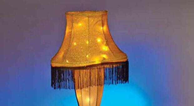 Leg Lamp Shade