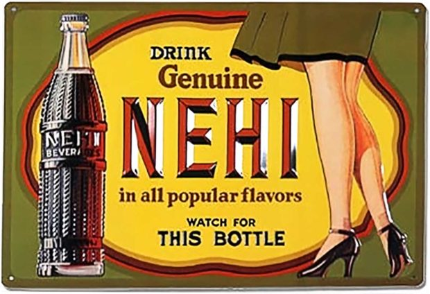 Drink Genuine Nehi - Leg Lamp Trivia